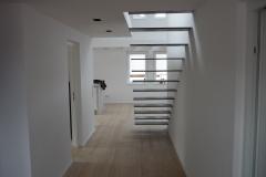 frei auskragende Stahltreppe 2